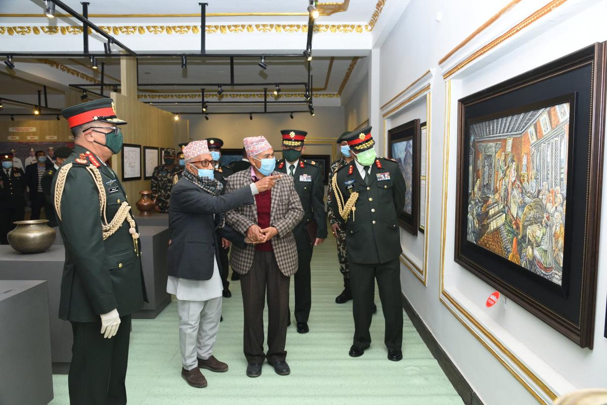 सञ्चालित कार्यक्रमहरुमध्ये गोरखा–काठमाडौं एकीकरण मार्ग पदयात्रा उल्लेखनीय रहेको सेनाले जनाएको छ।