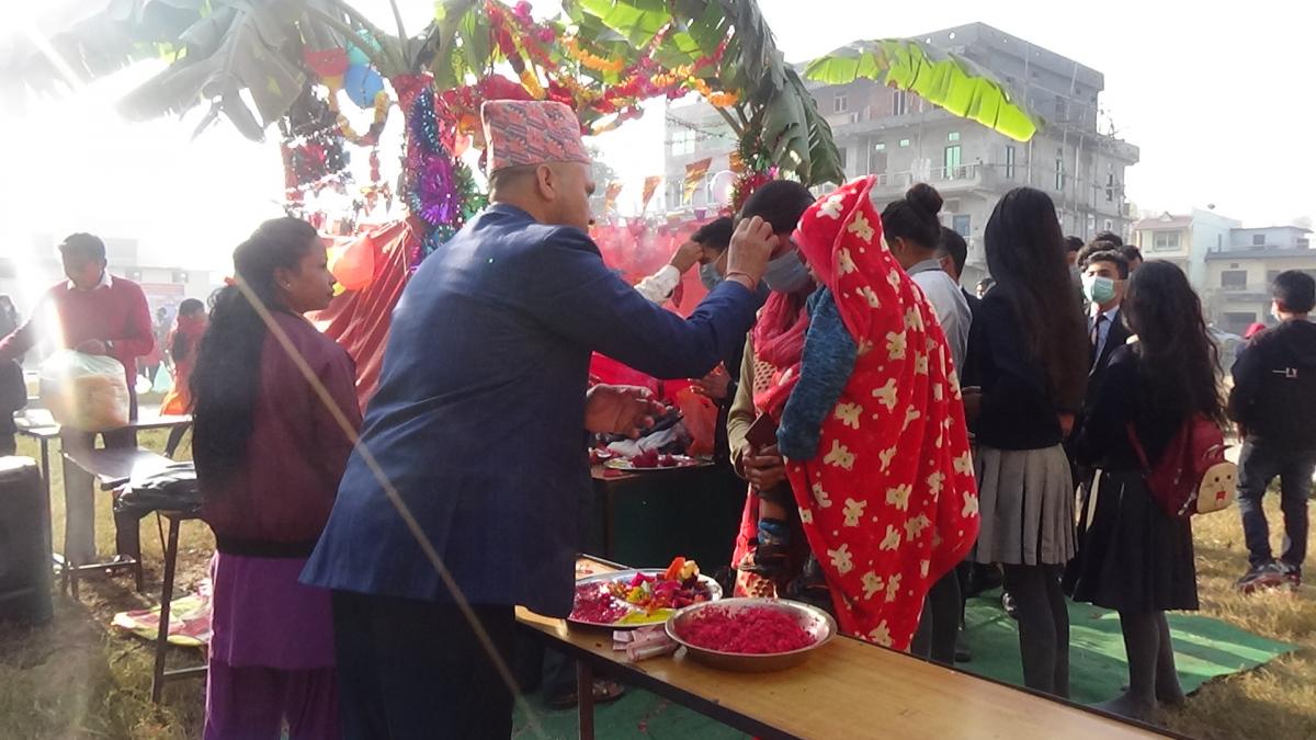 माघ शुक्ल पञ्चमीका दिन मनाइने 'श्रीपञ्चमी' पर्व आज विद्याकी अधिष्ठात्री देवी सरस्वतीको निष्ठापूर्वक पूजा–आराधना गरी मनाइँदैछ।