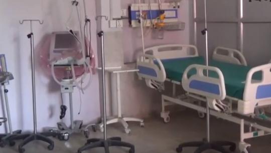 महाकाली अस्पतालमा चार वर्षदेखि थन्किएका आईसियुका उपकरण