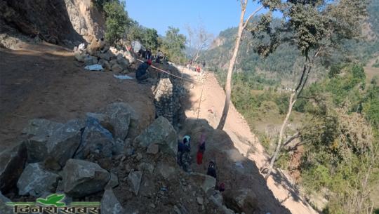 सहजपुर–बोगटान सडक खण्ड । फाइल फोटो।