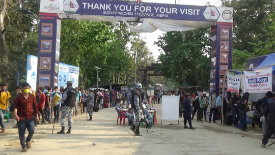 नेपाल–भारत सीमा क्षेत्र गौरीफन्टामा अलपत्र परेका नेपालीलाई स्वदेश प्रवेश गराउनका लागि स्थानीय प्रशासनले अनुमती पाएको छ।