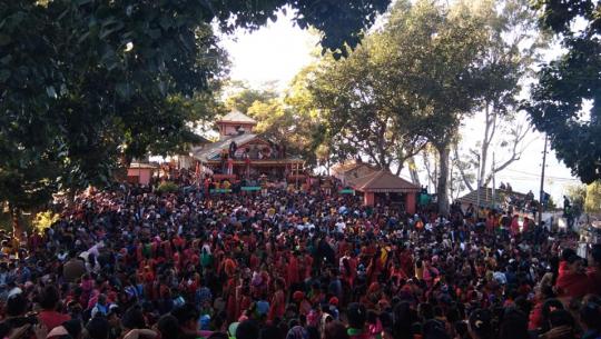 डोटीको सिलगढीमा रहेको शैलेश्वरी मन्दिरको जात आज सम्पन्न भएको छ।