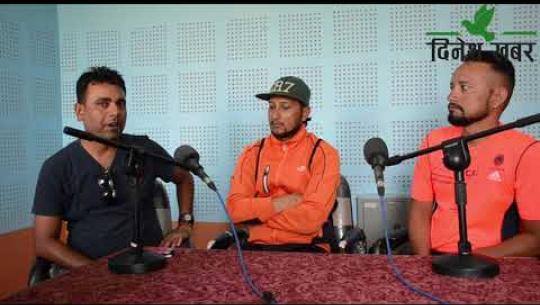 Embedded thumbnail for तातो बहसः खप्तड साईकल यात्रीः विवेक शर्मा, खगेन्द्रसिंह धामी र भरतविक्रम शाही। Dinesh Khabar