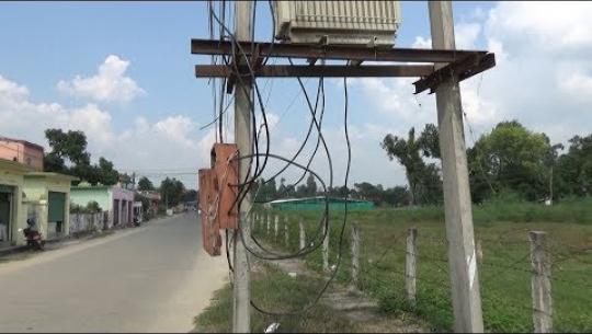 Embedded thumbnail for अव्यवस्थित विद्युतीकरणले कुरुप बन्दै धनगढी, दुर्घटनाको जोखिम बढ्दो